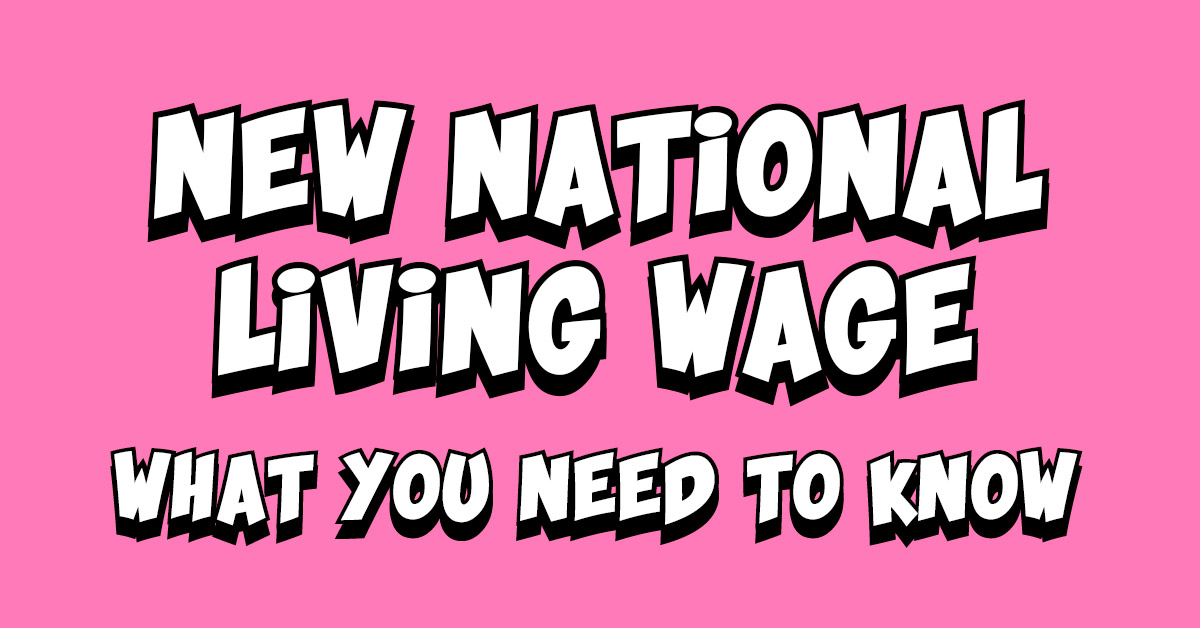 The New National Living Wage